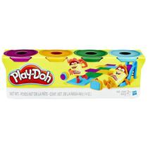 PLAY DOH 4 POTES Sortimento 1 - Play-Doh -