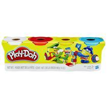 PLAY DOH 4 POTES Sortimento 2 - Play-Doh