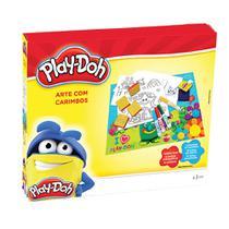 Play Doh - Arte com Carimbos - DTC -