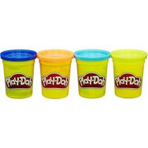 Play Doh c/4 Potes B5517 Hasbro -