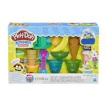 Play Doh Exclusivo Festa Do Sorvete Hasbro