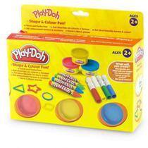 Play Doh Formas E Cores Divertidas DTC -