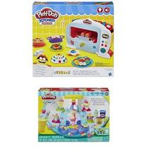 Play DOH Forninho Magico + Sorveteria Divertida Hasbro