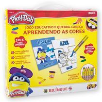 Play Doh Kit de Arte Aprendendo As Cores em Ingles Fun 77883 -