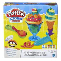 Play Doh Kit Sundae Massinha De Modelar - B1857 Hasbro