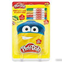 Play-Doh Livro Pinte E Lave Divertido Fun -