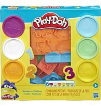 Play Doh Massinha Molde Dos Números - Hasbro E8533 -