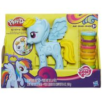 Play Doh My Little Pony - Ponei e Penteados - B0011 - Hasbro