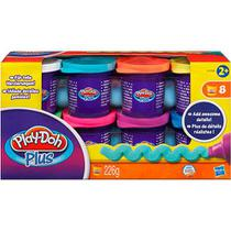 Play-Doh Plus C/ 8 Potes - Hasbro A1206