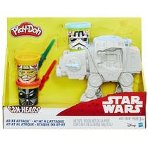 Play DOH STAR WARS KIT Ataque do AT-AT Hasbro B5536 11675