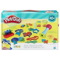Play Doh Super Kit Molde Mania B7420 - Hasbro -