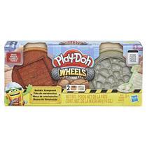Play Doh Wheels Massa de Construção Tijolo e Pedra E4524/E4508 - Hasbro -