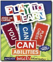 Play to learn - jogo de cartas can abilities -