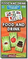 Play to learn - jogo de cartas - food and drink - Ptl - play to learn