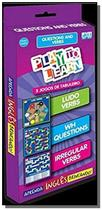 Play to learn - jogo de cartas - questions and verbs - Ptl - play to learn