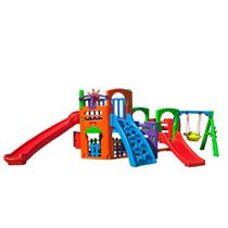 Playground Multiplay House Com Kit Fly - Freso -