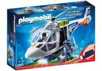 Playmobil 6921 City Action Helicóptero de Policia - Sunny