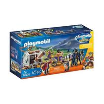 Playmobil 70073 The Movie Charlie e Charrete Com Piratas -