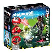 Playmobil - Caça Fantasmas - Monstros Holográficos - Winston Zeddemore - 1786 - Sunny -