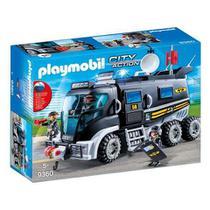 Playmobil Caminhão de Unidade Tática City Action 9360 Sunny -