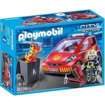 Playmobil City Action Bombeiro com Carro - Sunny -