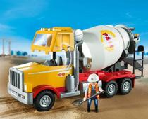 Playmobil City Action Caminhão Betoneira Sunny 9116 -