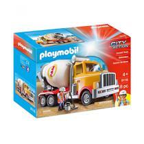 Playmobil City Action - Caminhão Betoneira - Sunny -