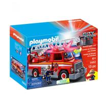 Playmobil City Action - Caminhão de Bombeiro com Escada - Sunny -