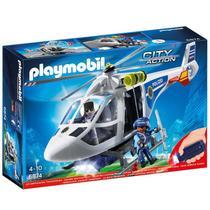 Playmobil City Action Helicóptero de Polícia - Sunny -