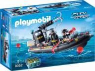 Playmobil City Action Unidade Tatica Com Bote 9392 -