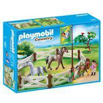 Playmobil Country - Cercado com Cavalos - 6931 - Sunny -