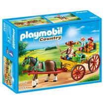 Playmobil Country - Charrete Com Cavalos - Sunny -