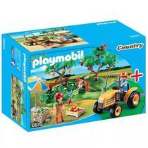 Playmobil Country Pomar com Trator - Sunny -