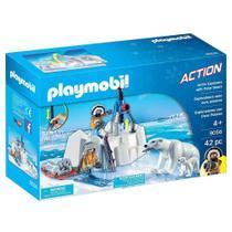 Playmobil Esportes Exploradores Ártico Com Urso Polar -