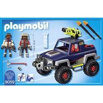 Playmobil - Expedição Ártica - Piratas do Gelo com Jipe - 9059 - Sunny -
