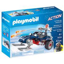 Playmobil - Expedição Ártica - Piratas do Gelo com Moto - 9058 - Sunny -