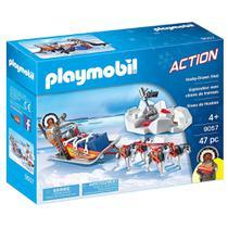 Playmobil - Expedição Ártica - Trenó e Huskys - 9057 - Sunny -