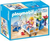 Playmobil Quarto De Maternidade Mamãe Com Bebê Hospital 6660 -