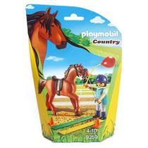 Playmobil - Soft Bags Cavalos - Cavalo Marrom - 9259 - Sunny -