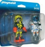 Playmobil Space Blister Astronautas 9448 -