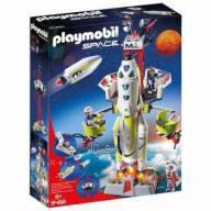 Playmobil Space Foguete de Missao com Satelite 9488 -