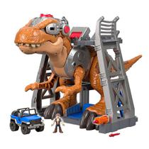 Playset 41 Cm e Mini Figuras - Imaginext - Jurassic Rex - Fisher-Price - Fisher price