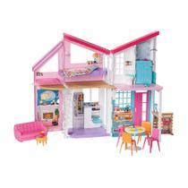 Playset Barbie - 90 Cm - Casa da Barbie - Casa Malibu - Mattel -
