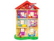 Playset Casa da Família Pig Sunny Brinquedos - 11 Peças