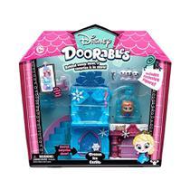 Playset com Mini Figura - Castelo de Gelo da Frozen - Disney - Doorables - DTC -