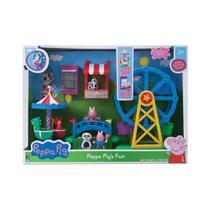 Playset com Mini Figura Peppa Pig - Parque de Diversão - Sunny -