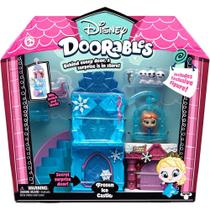 Playset Doorables Disney - Castelo de Gelo da Frozen - DTC -