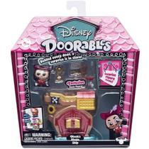 Playset Doorables Disney Navio Pirata do Capitao Gancho 5083 - Dtc