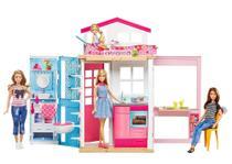 Playset e Boneca Barbie - Barbie - Barbie Real e Sua Casa - Mattel -