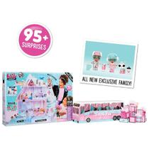 Playset e Bonecas - LOL Chalet - Winter Disco - 95 Surpresas - Candide -